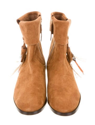 Suede Coachella Ankle Boots w/ Tags