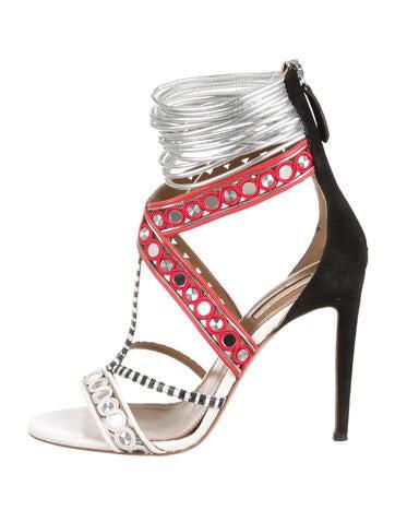 Queen Embellished Sandals