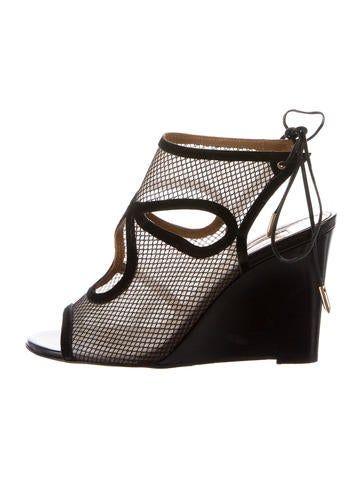 Mesh Caged Wedges