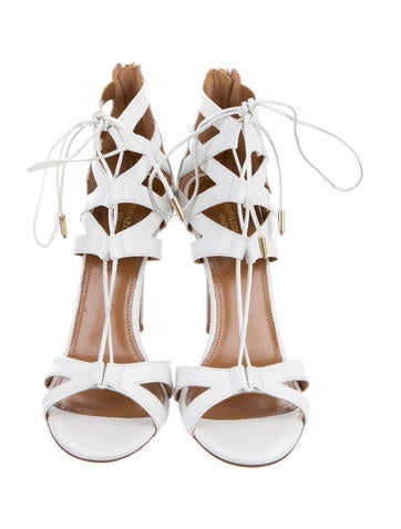 Beverly Hill Lace-Up Sandals