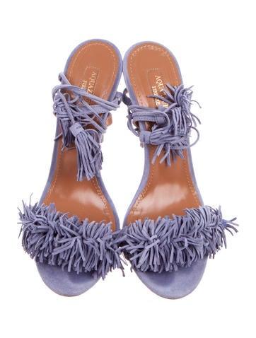 Suede Wild Thing Sandals
