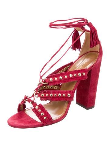 Tulum Stud-Embellished Sandals