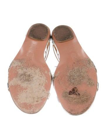 Beverly Hills Metallic Sandals
