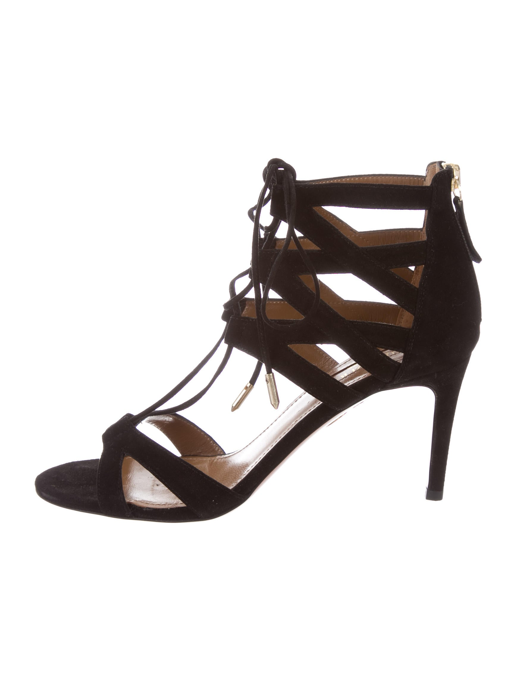 f7dc3dca8576 Aquazzura Beverly Hills 75 Sandals - Shoes - AQZ23372