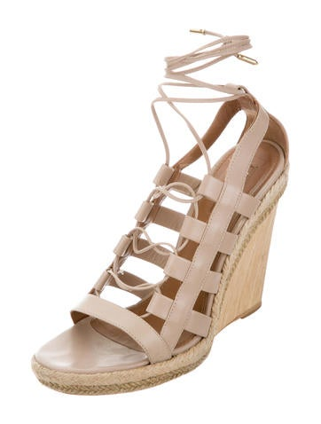 Aquazzura Amazon Wedge Sandals - Shoes - AQZ23803 | The ...