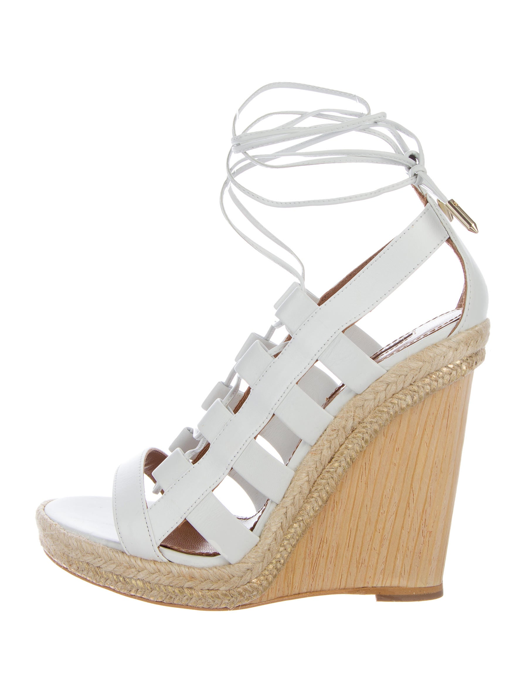 Aquazzura Amazon Wedge Sandals - Shoes - AQZ23823 | The ...