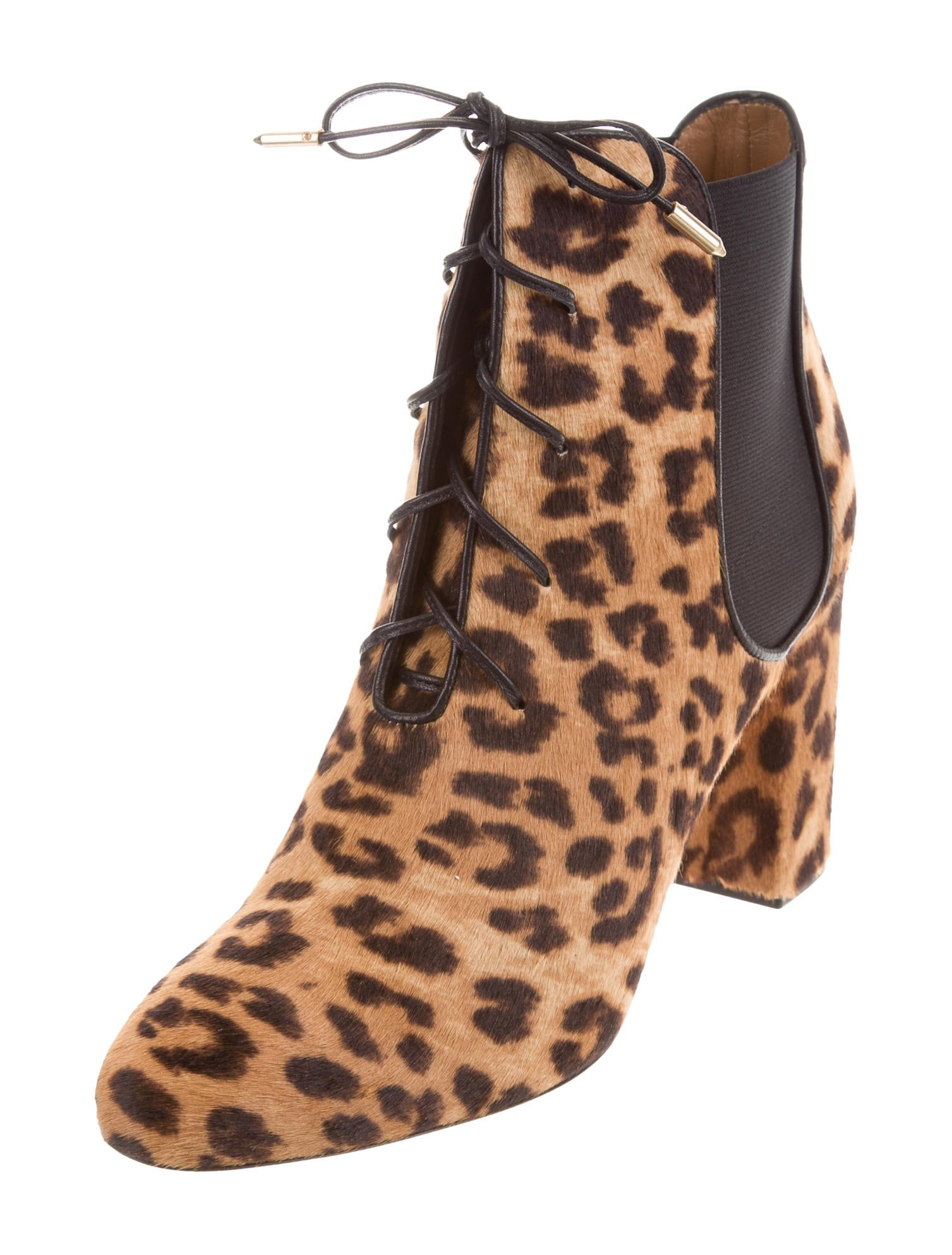 Aquazzura Leopard Victoria Ankle Boots w/ Tags F/W 2016 with paypal cheap price YyoKZreaz