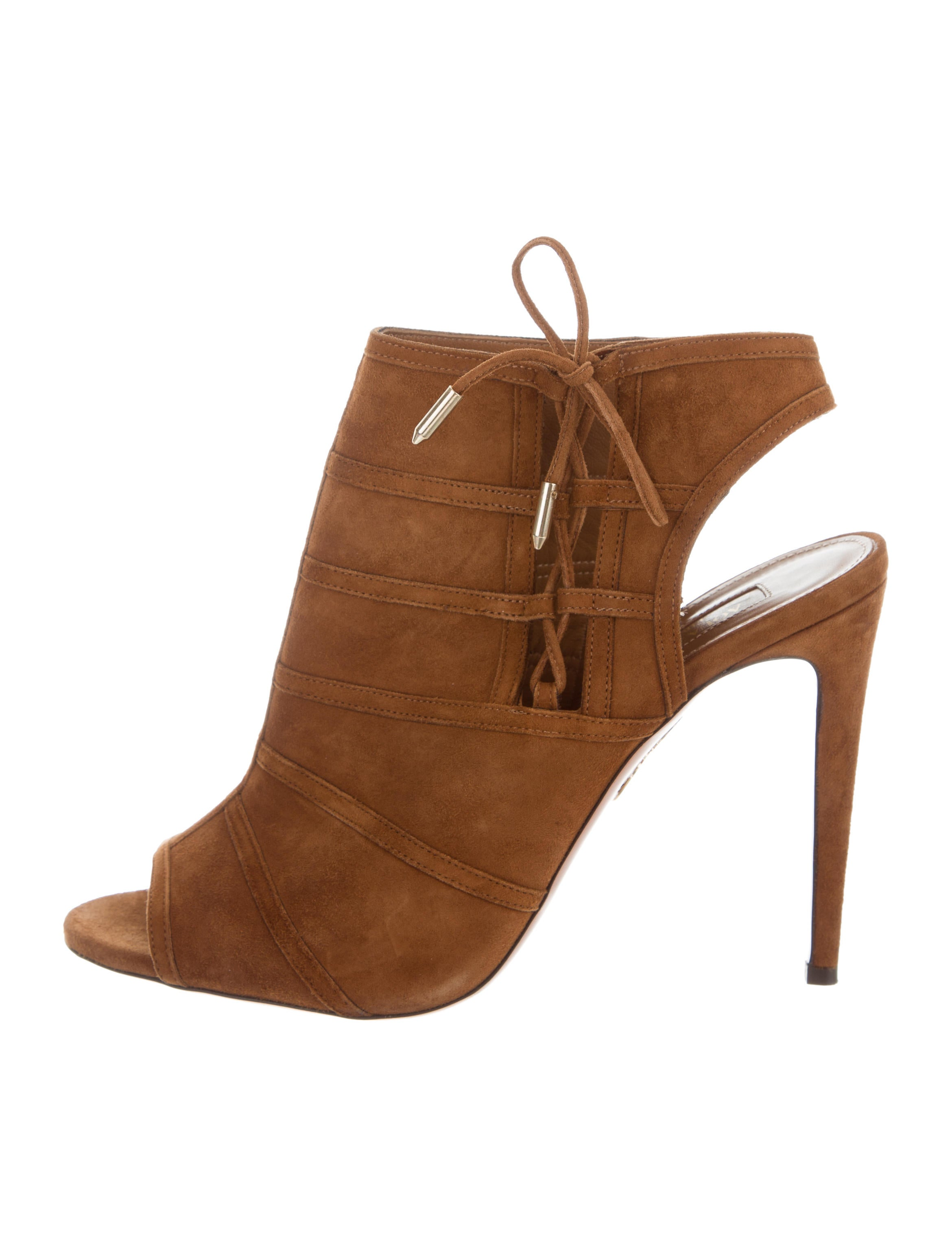 cheap sale factory outlet Aquazzura Oui Baby 105 Booties online for sale best wholesale cheap price many kinds of 5x8WY