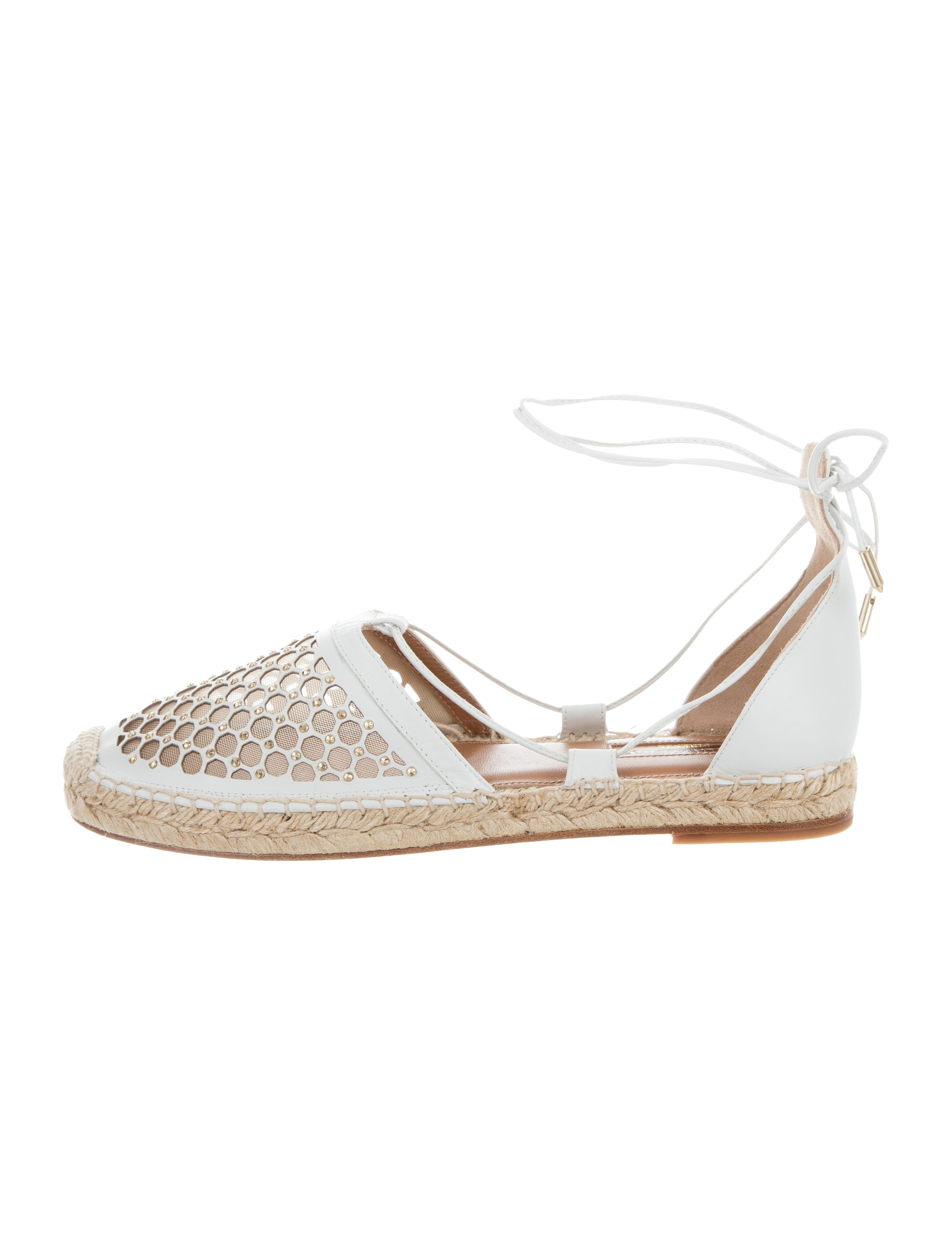 Aquazzura Blondie Embellished Espadrilles cheapest price for sale shop online cheap sale explore uIWD88