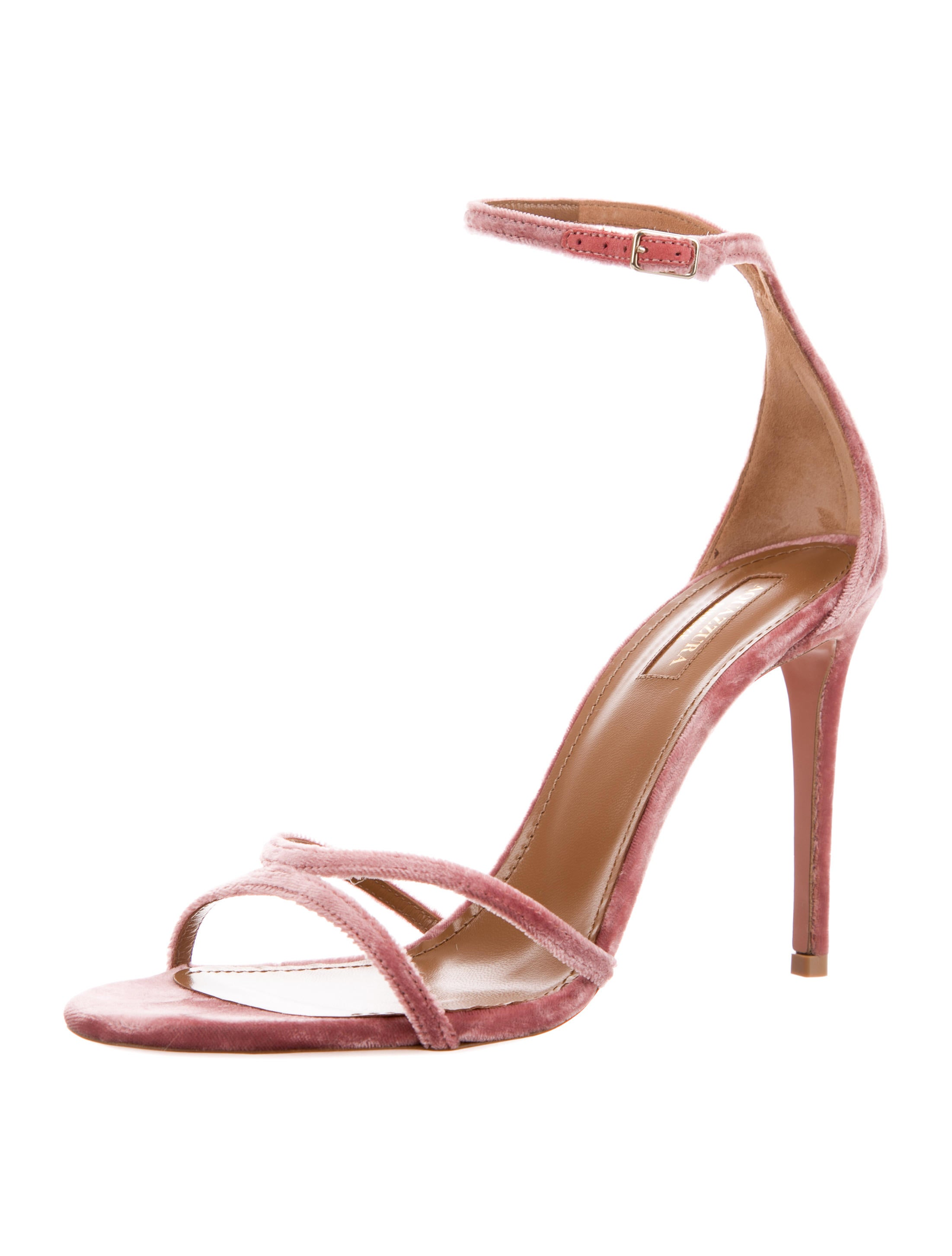 Aquazzura Purist Leather Sandals w/ Tags discount lowest price hot sale cheap sale best lowest price sale online clearance big discount ldgJgnwfhd