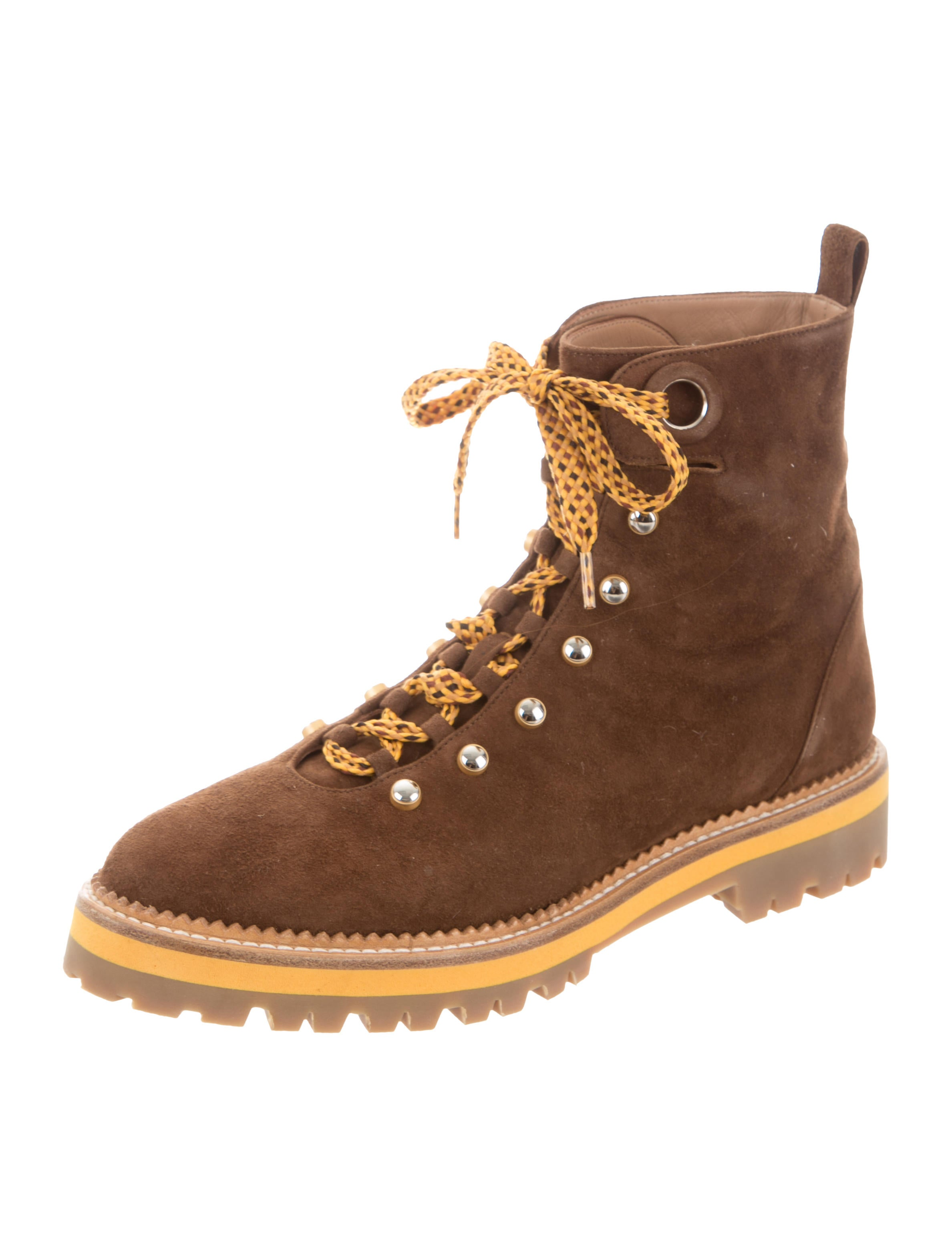 buy cheap pictures Aquazzura Suede Hiking Boots w/ Tags wholesale price great deals for sale many kinds of for sale outlet free shipping oKUmvRRjC