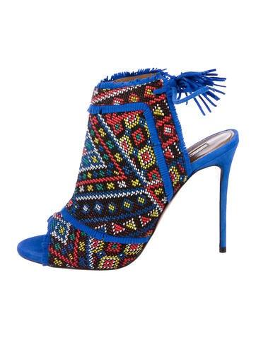 Aquazzura Woven Caged Sandals sale 2014 popular for sale ZYe51