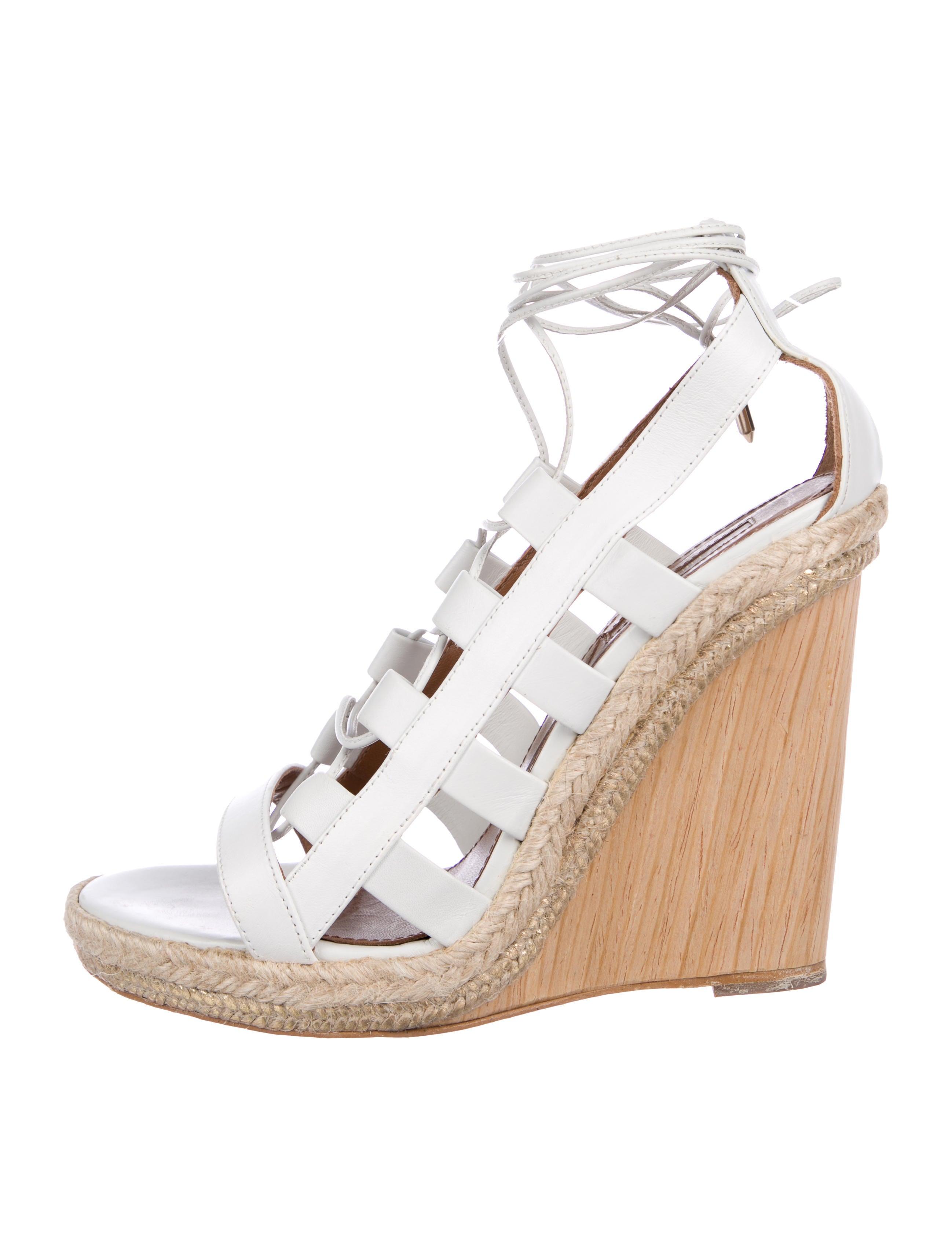 e985af105e64 Aquazzura Amazon Wedge Sandals - Shoes - AQZ30271