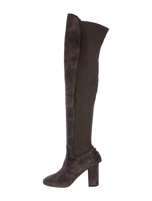 Aquazzura Suede Over-The-Knee Boots