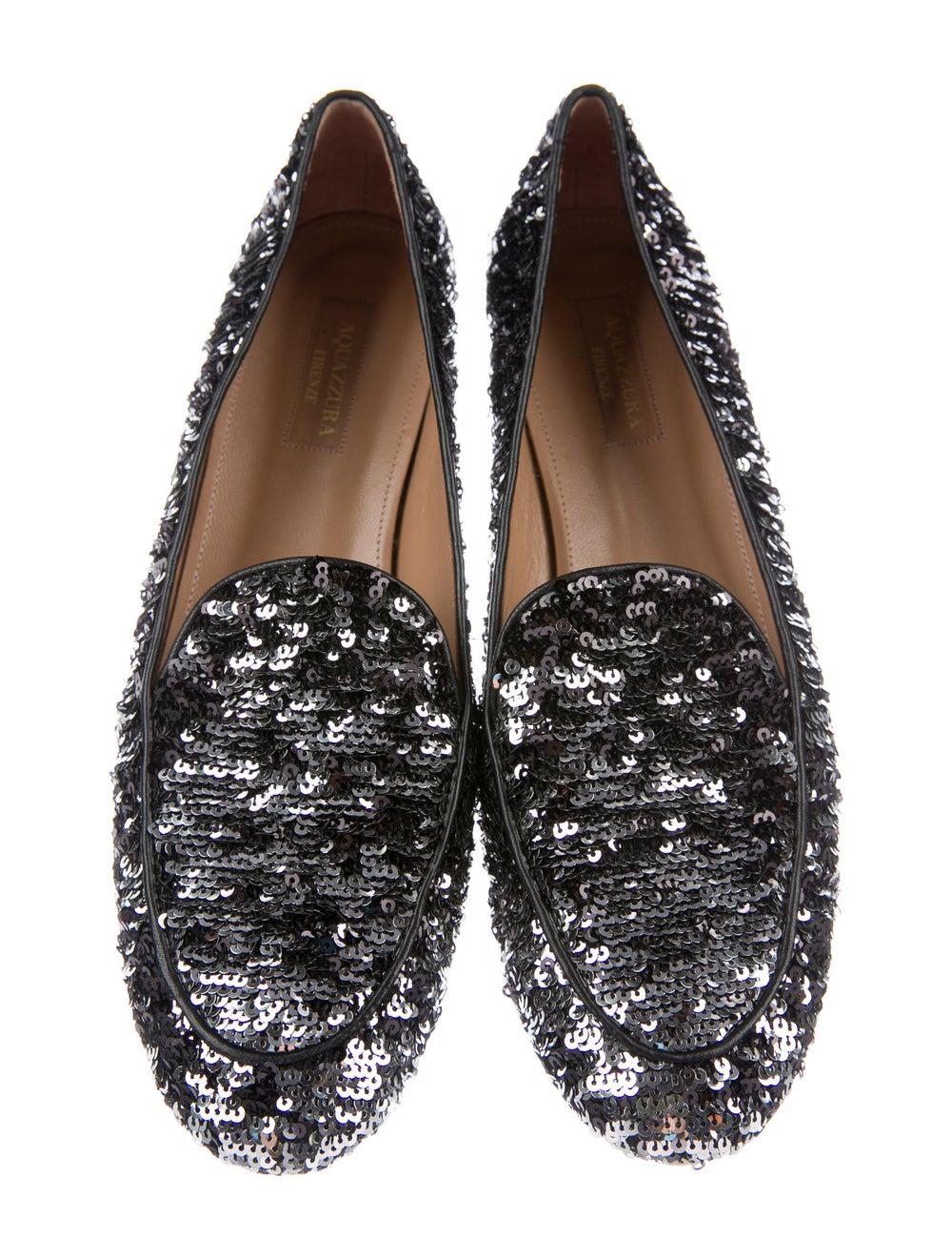 Aquazzura Loafers Black - image 3