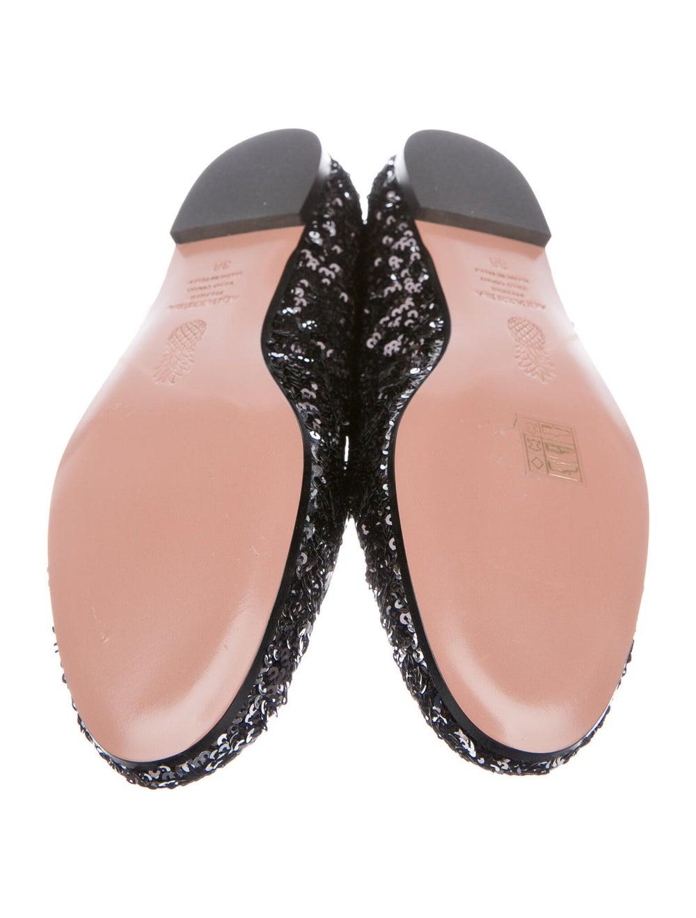 Aquazzura Loafers Black - image 5