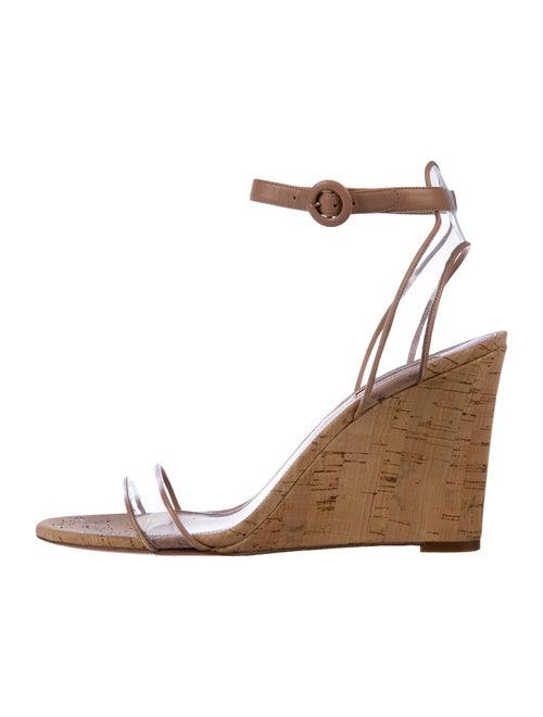 Aquazzura Minimalist Sandals Brown