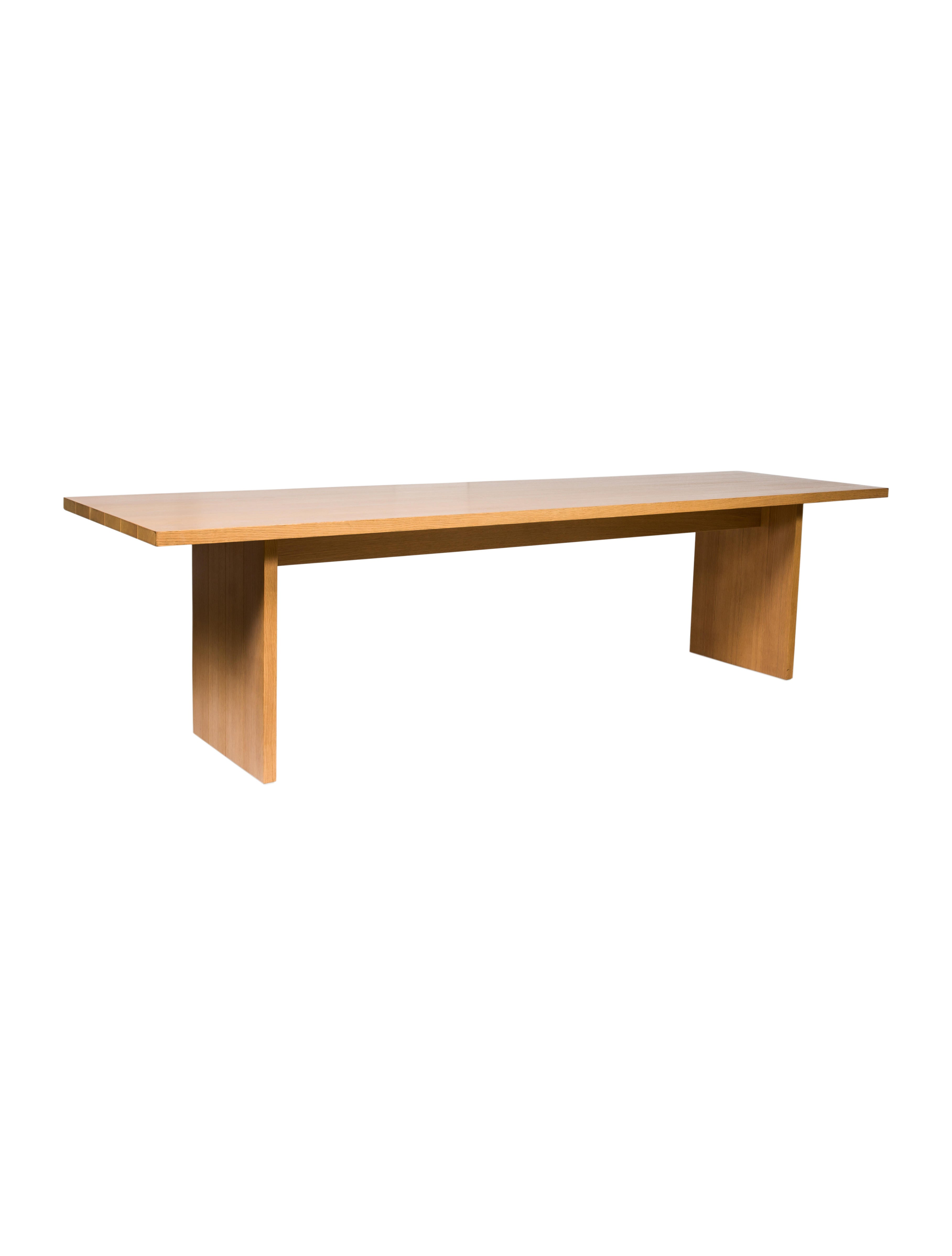 Arclinea Oak Dining Table Furniture ARCLN20003 The  : ARCLN200032enlarged from www.therealreal.com size 3632 x 4791 jpeg 211kB
