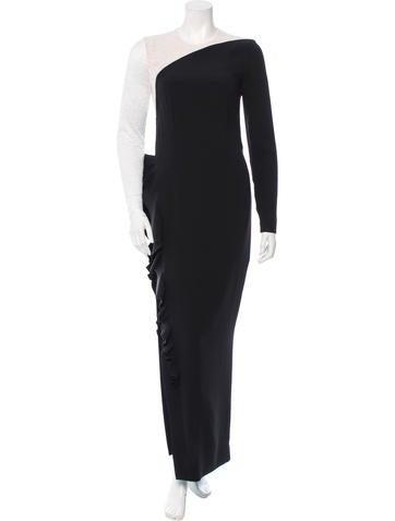Alessandra Rich Silk Evening Dress