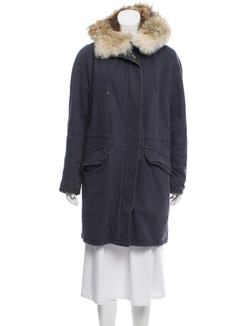 Army by Yves Salomon Fur-Lined Hooded Parka