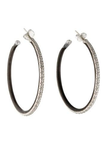 Armenta New World Scalloped-Edge Hoop Earrings eiwGi