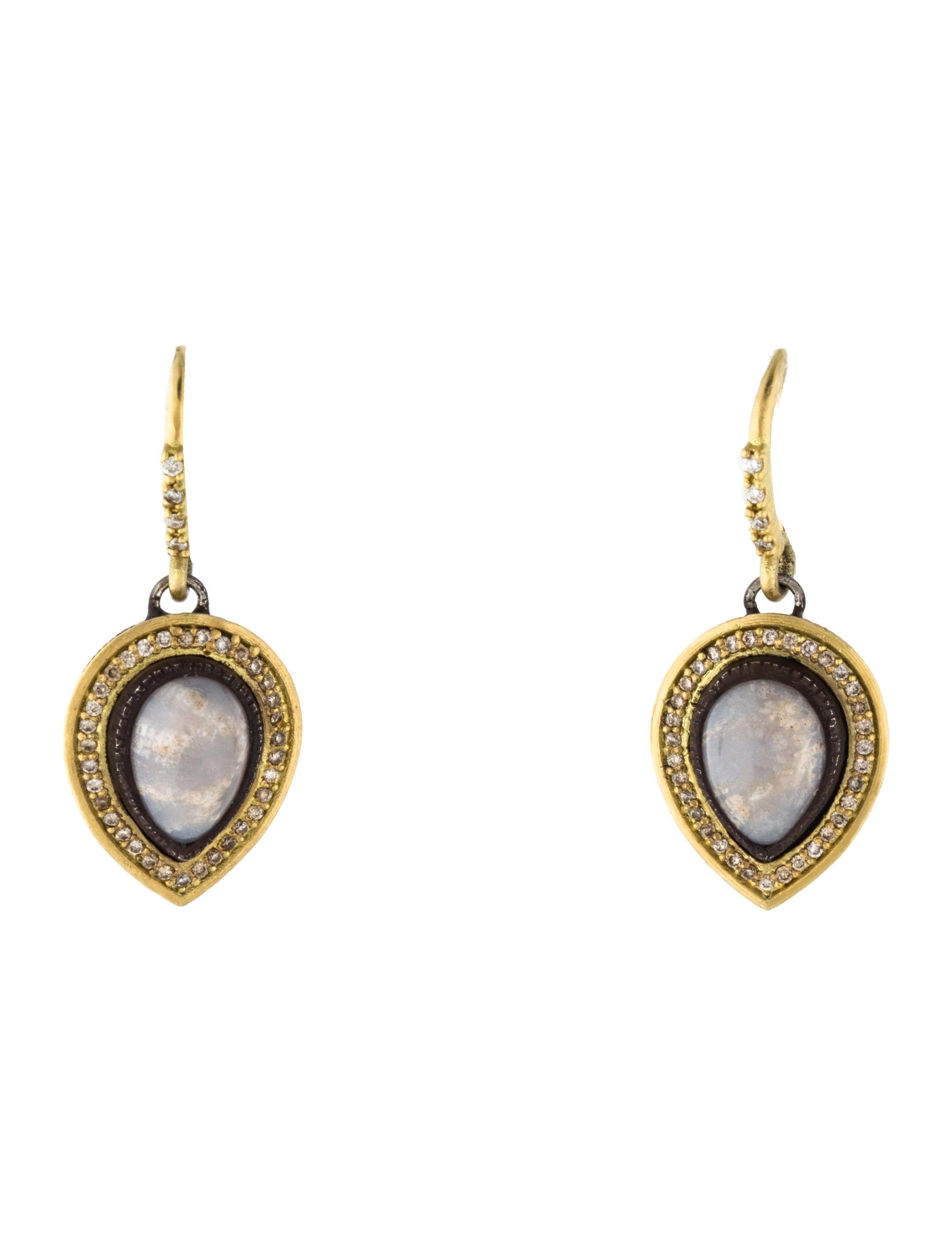Armenta Old World Chalcedony Drop Earrings pVIUzOgK2O