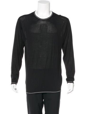 Armani Collezioni Crew Neck Sweater None
