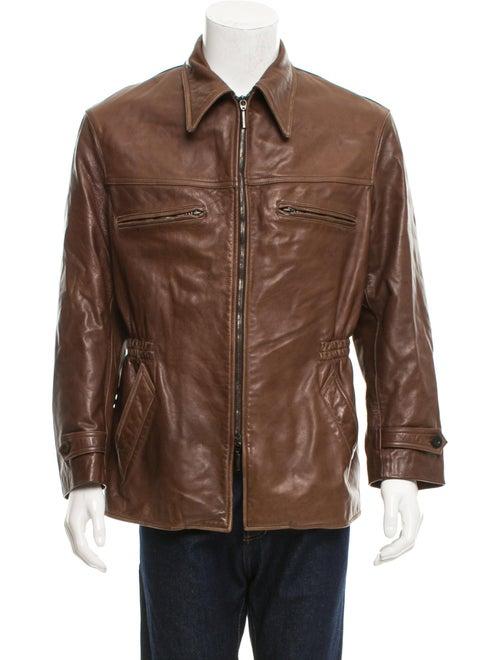 d76b59b83 Short Leather Jacket