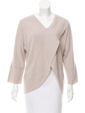 Armani Collezioni Layered Knit Sweater None