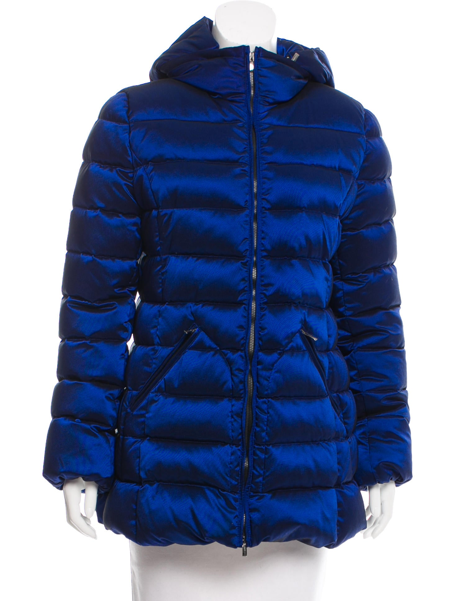 Armani Collezioni Quilted Down Coat Clothing Arr23365 The Realreal