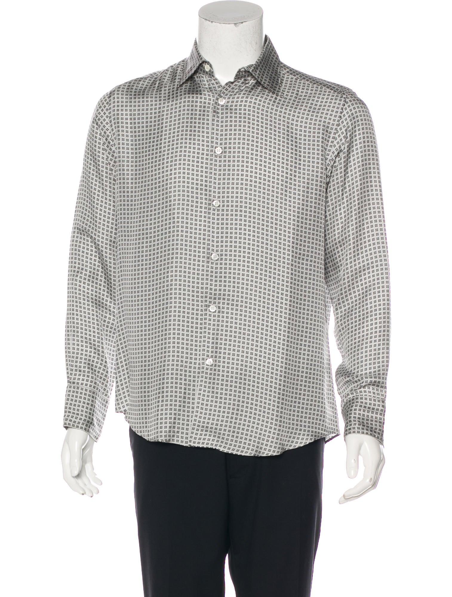 9361e64474e21e Armani collezioni patterned silk shirt clothing arr jpg 1514x1998 Patterned  silk shirt