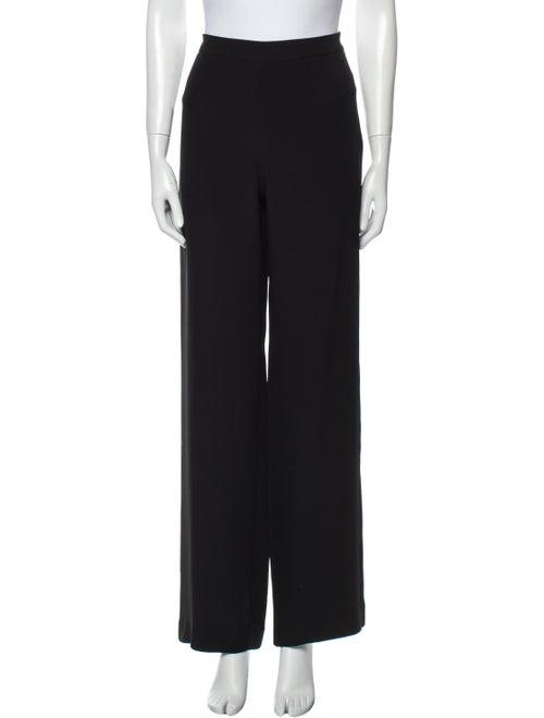 Armani Collezioni Wide Leg Pants Black - image 1