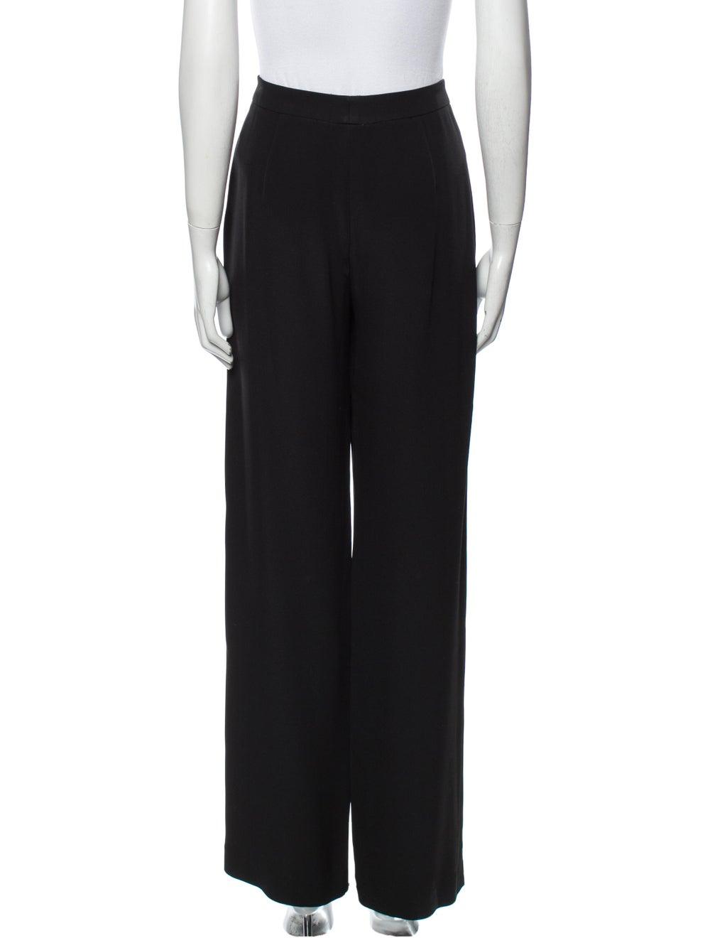 Armani Collezioni Wide Leg Pants Black - image 3