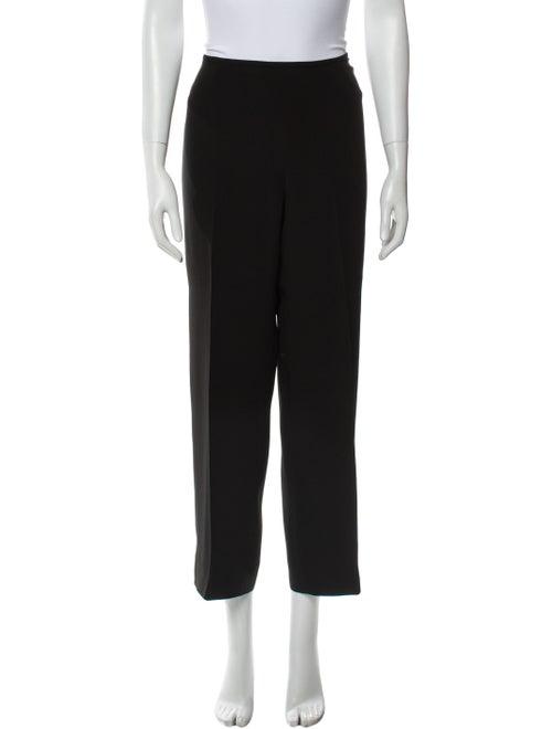 Armani Collezioni Wide Leg Pants Black