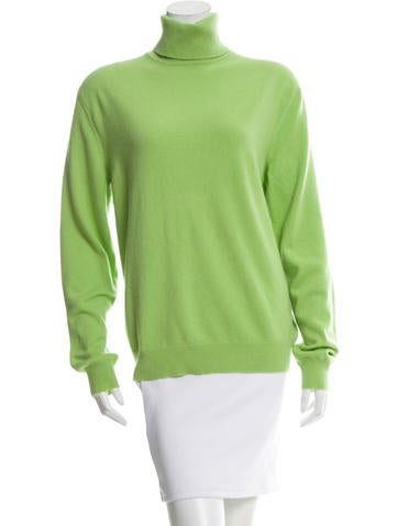 Asprey Long Sleeve Cashmere Turtleneck None
