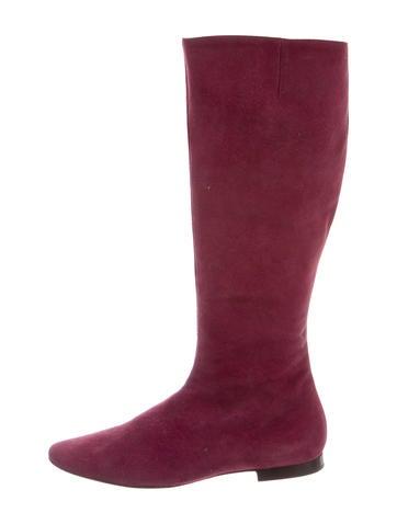 Asprey Suede Knee-High Boots