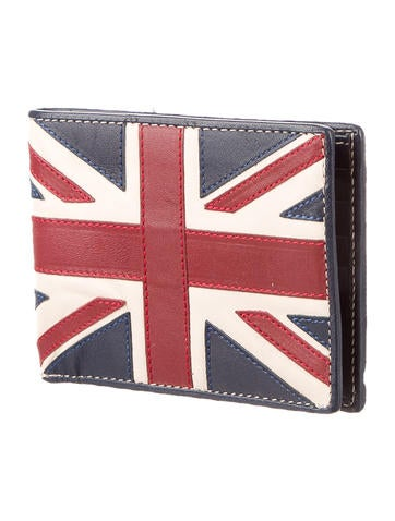 Graphic Leather Wallet