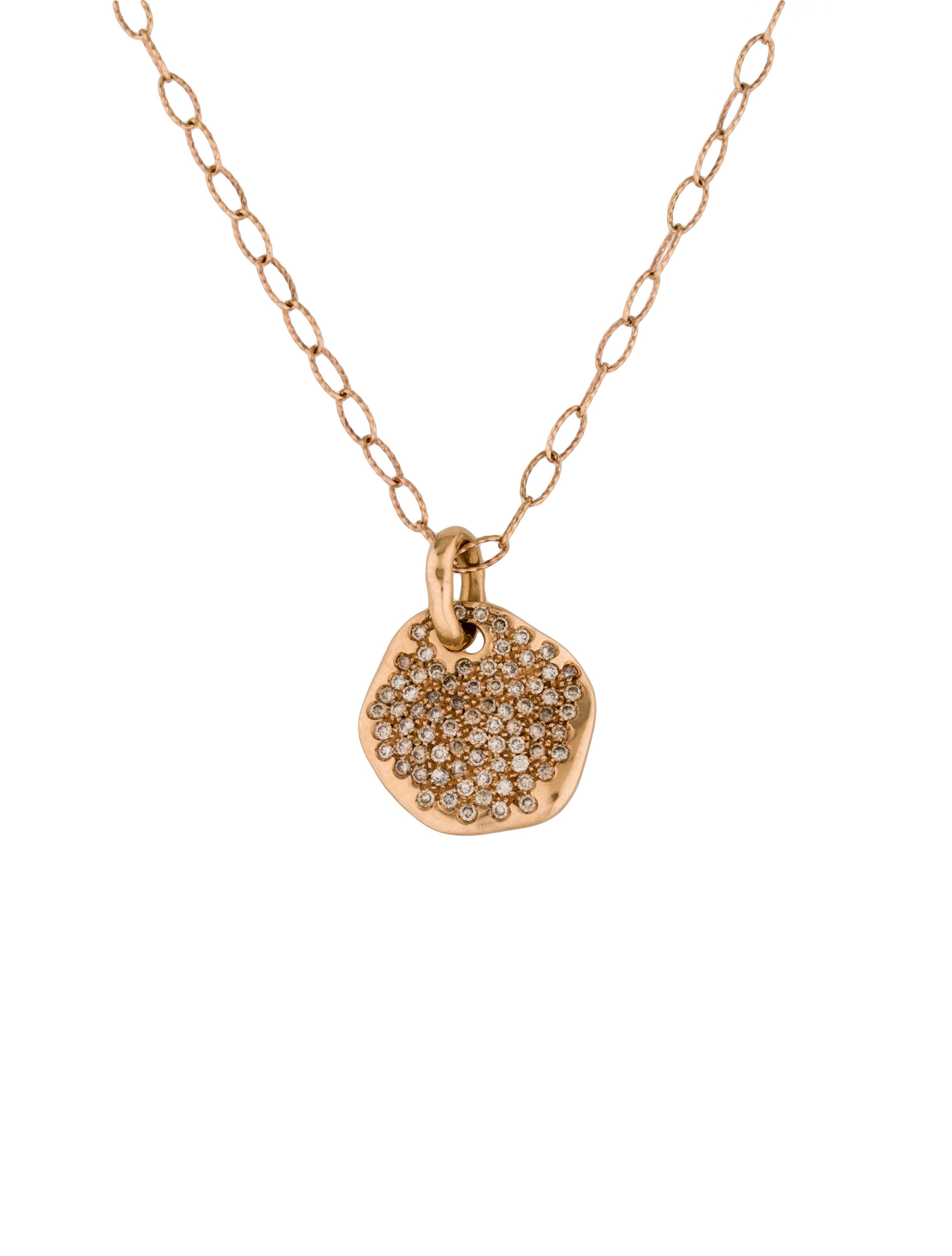 Antonini gioielli 18k pav diamond pendant necklace necklaces 18k pav diamond pendant necklace aloadofball Images