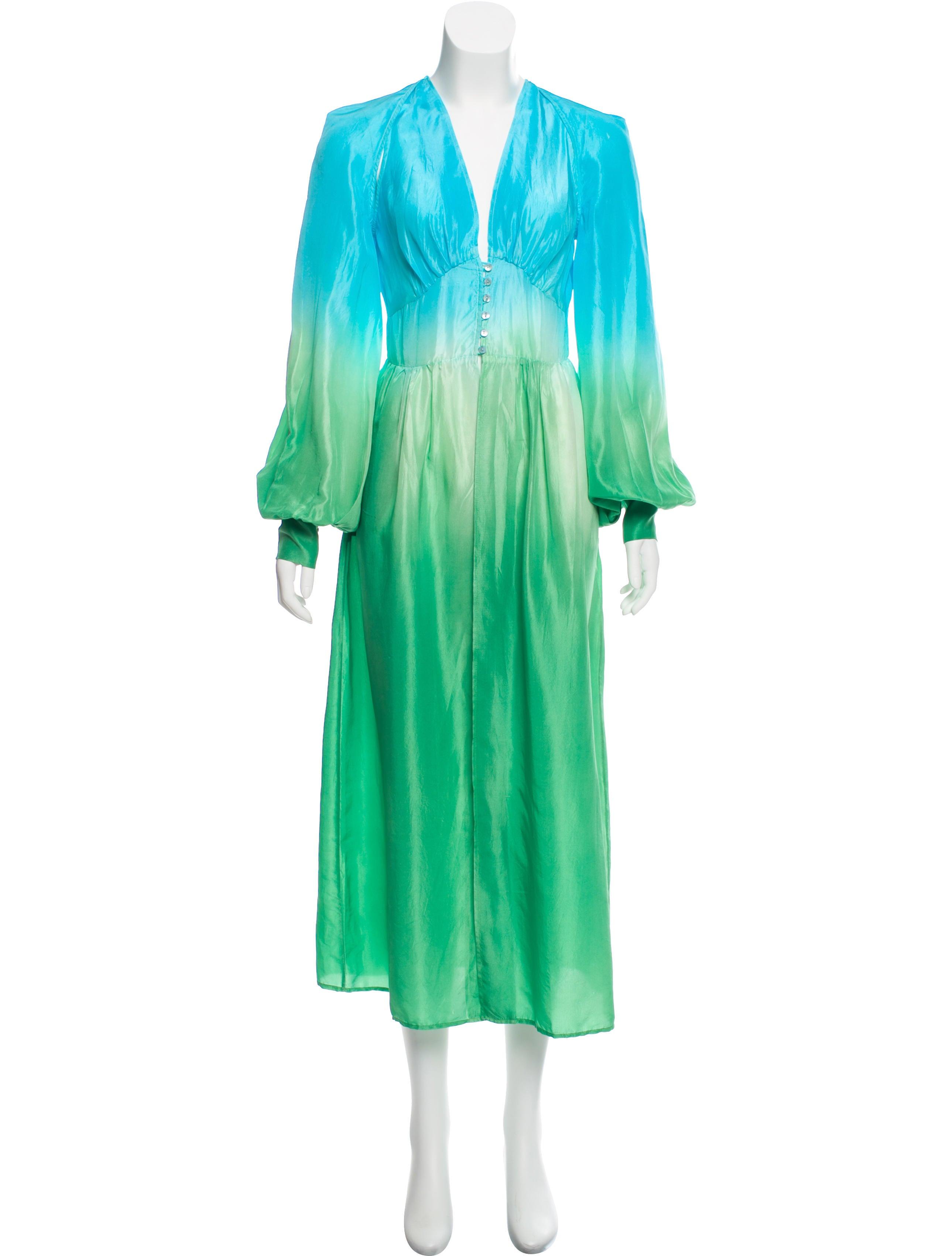 Silk Ombré Dress by Attico