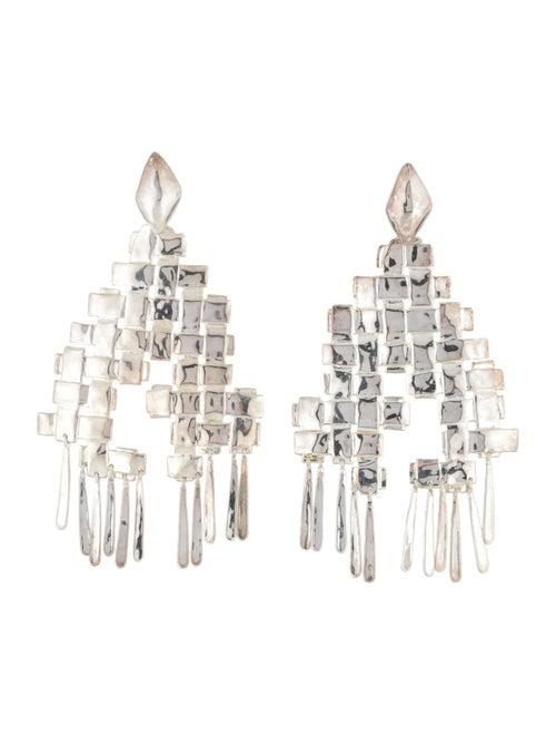 Aurélie Bidermann Chandelier Earrings Silver