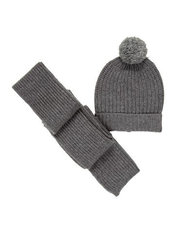 Audemars Piguet Rib Knit Hat & Scarf Set w/ Tags None