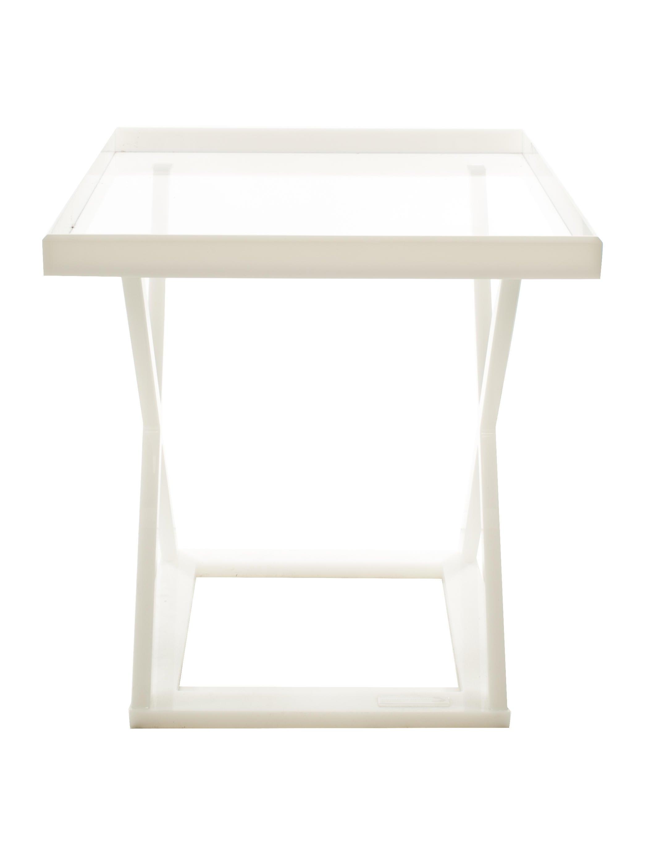 Alexandra Von Furstenberg Side Table Furniture