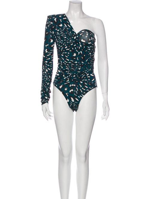 Alexandre Vauthier Bodysuit One-Shoulder Bodysuit