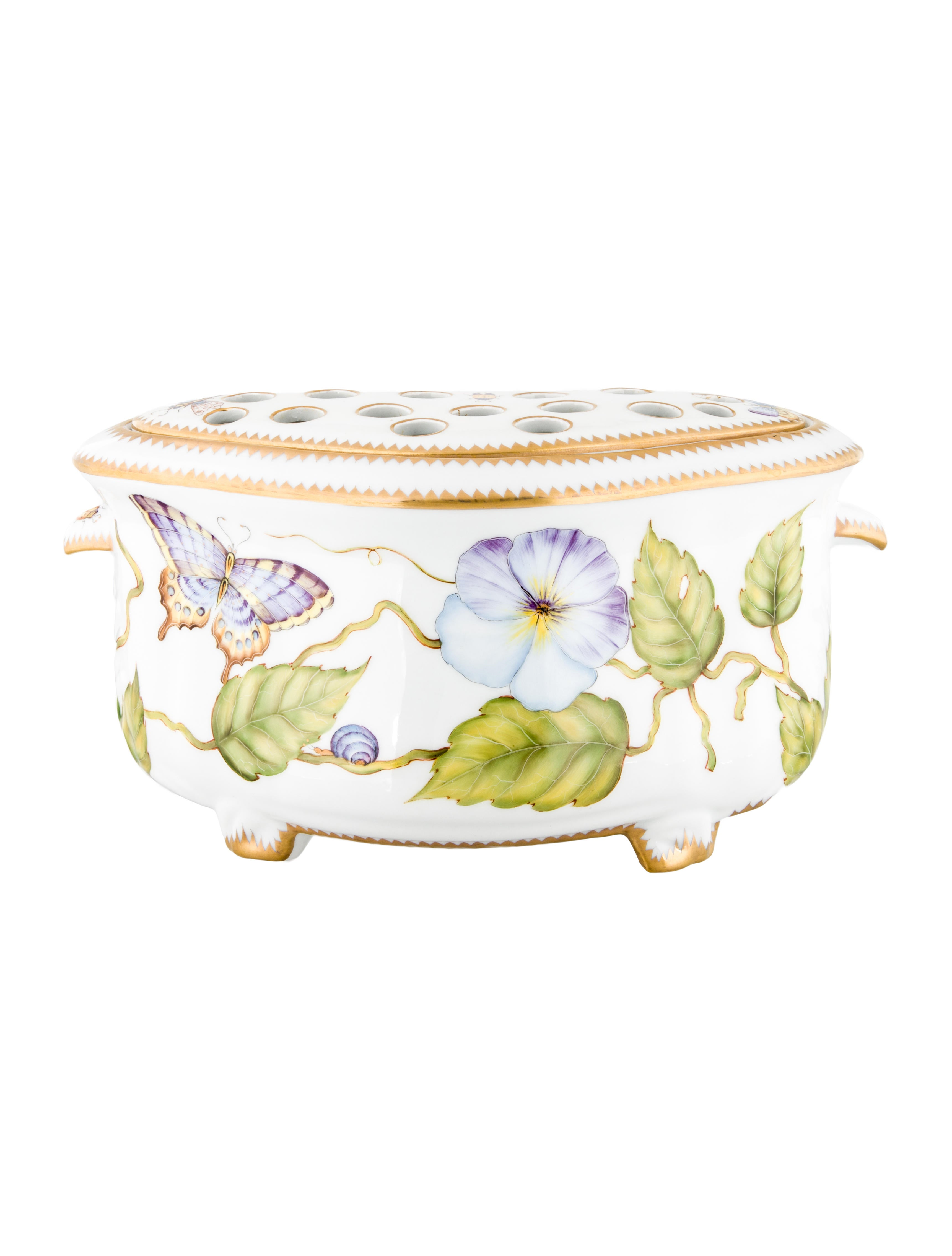 Anna weatherley garden party centerpiece flower holder - Garden decor accessories ...