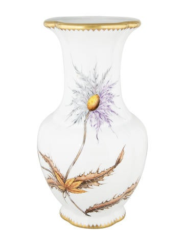 Anna Weatherley Hand-Painted Porcelain Vase None