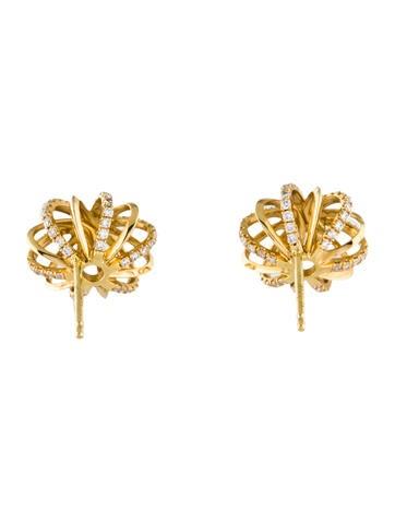 Alexandra Mor 18k Diamond Snowflake Earrings Earrings Axmor20001 The Realreal