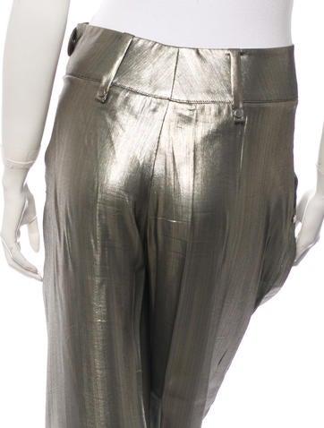 Metallic Pants