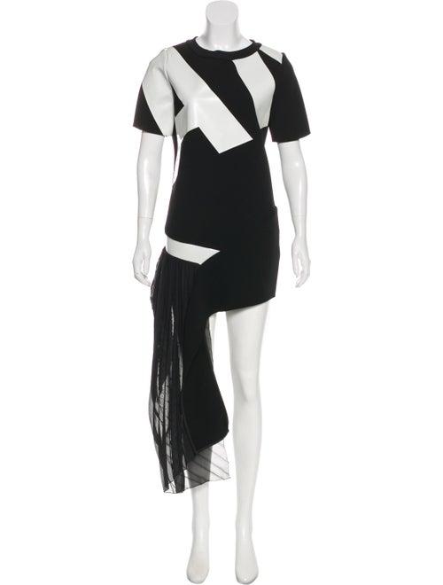 Anthony Vaccarello Maxi Jersey Dress Black