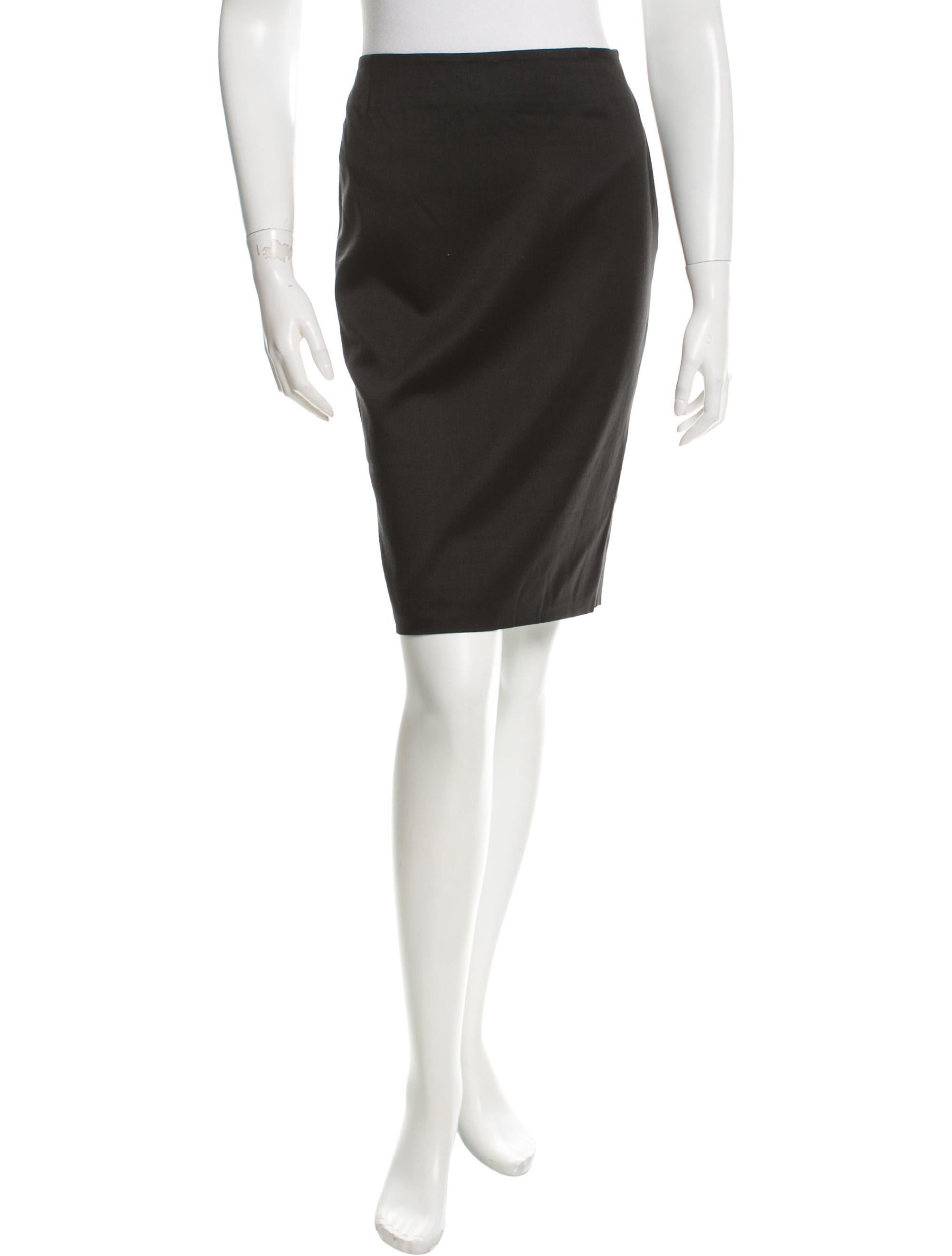 azzaro classic pencil skirt clothing azz20137 the