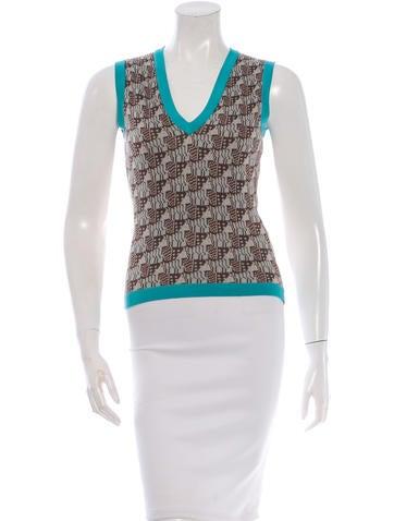 Barbara Bui Silk Knit Top None